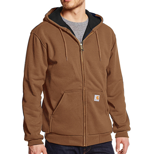 칼하트 써멀 후드집업 rutland thermal-lined hooded zip-front sweatshirt//carhartt brown[재입고]