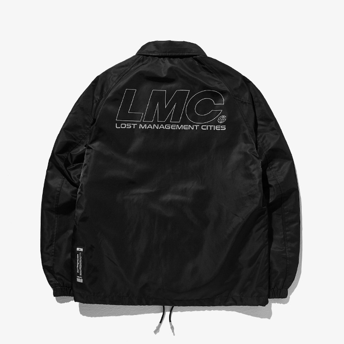 엘엠씨 LMC REFLECTIVE LOGO COACH JACKET // BLACK(재입고)
