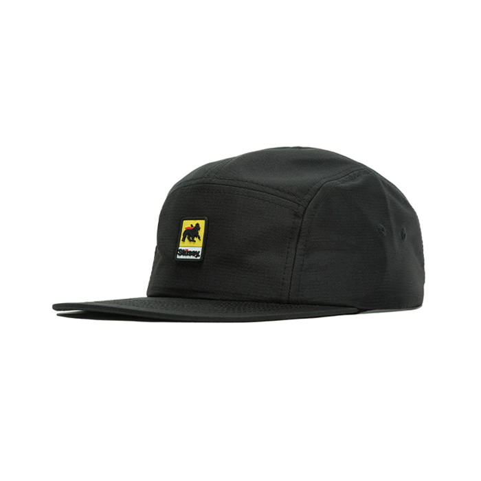 스투시 LION RUBBER PATCH CAMP CAP/BLACK