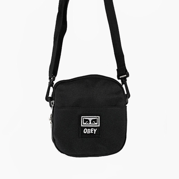 오베이 DROP OUT TRAVELER BAG // BLACK