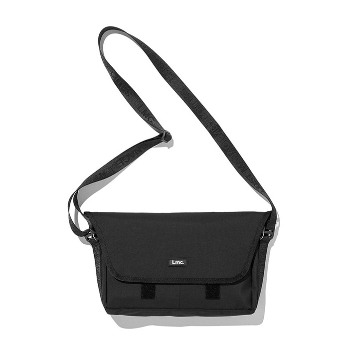엘엠씨 가방 LMC 3 LAYER MESSENGER BAG black