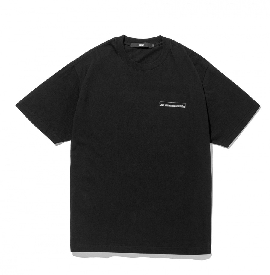 엘엠씨 티셔츠 LMC FN BAR LOGO TEE black