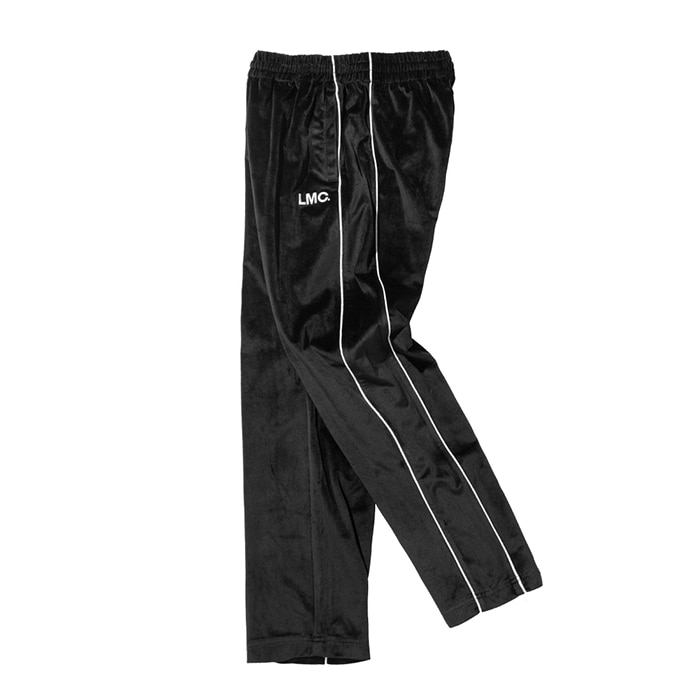 엘엠씨 LMC VELOUR TRACK PANTS black