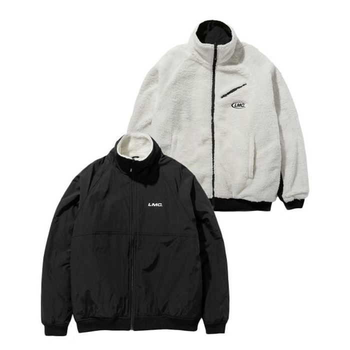 엘엠씨 자켓 LMC SILKY FLEECE REVERSIBLE JACKET cream