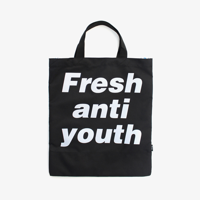 프레이 Logo Tote Bag // Black