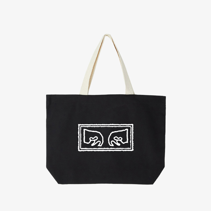 오베이 가방  OBEY EYES  Tote // BLACK