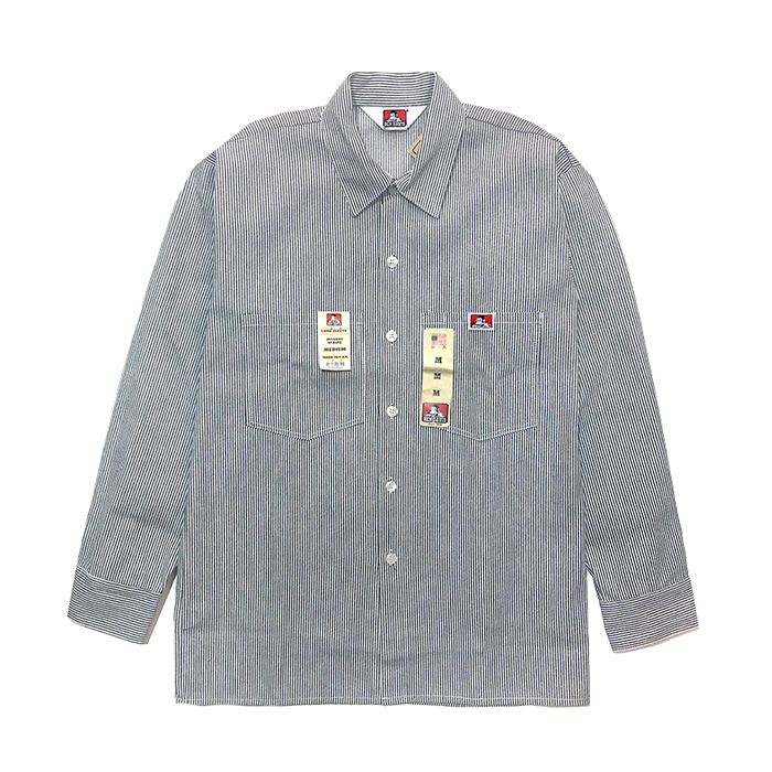 벤 데이비스 Hickory Stripe, Button Front // Stripe