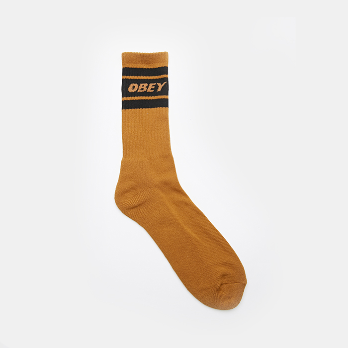 오베이 삭스  COOPER DEUCE SOCKS // TAPENADE / BLACK
