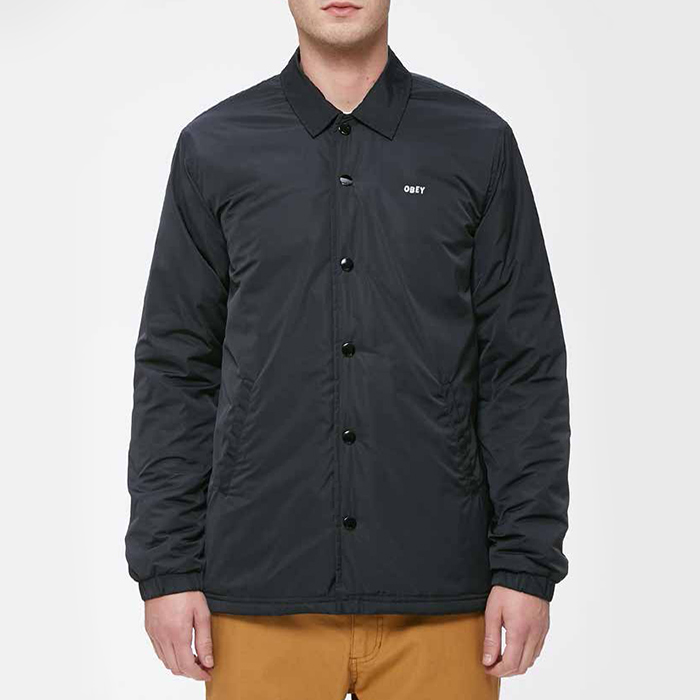 오베이 SANCTION JACKET // BLACK