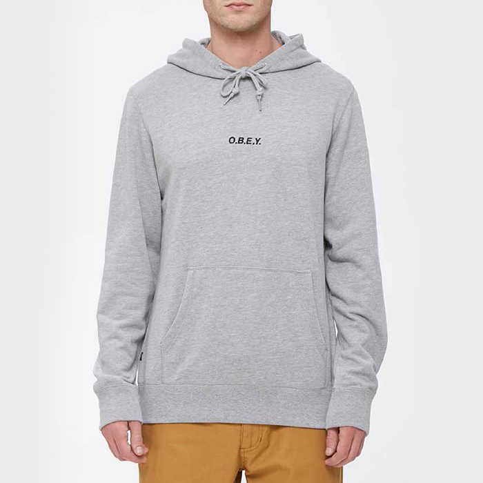 오베이 후드 CORSAIRE HOOD // HEATHER GREY