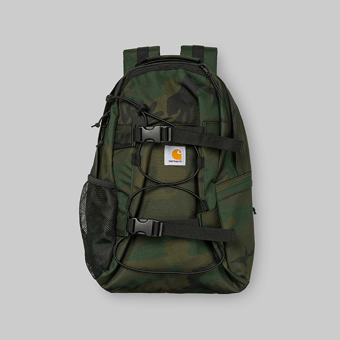 칼하트WIP 백팩 KICKFLIP BACKPACK // Camo Combat Green