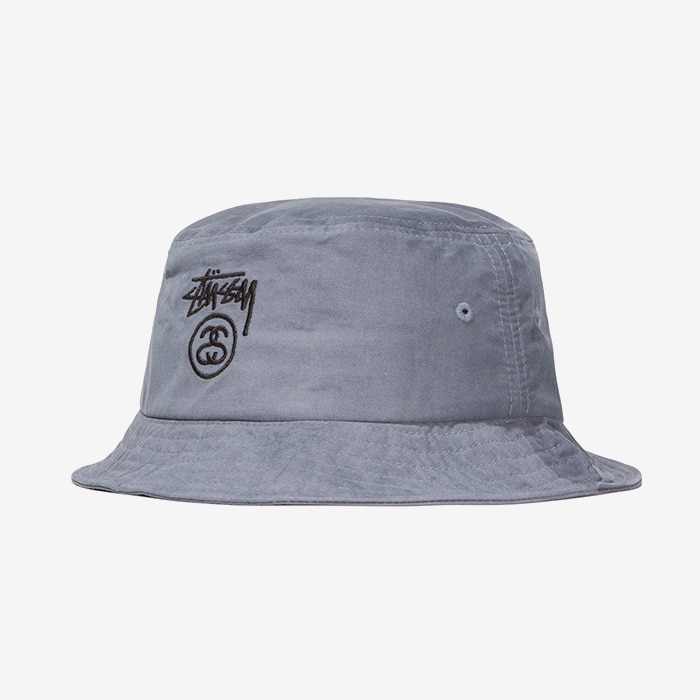 스투시 STOCK LOCK BUCKET HAT // GREY