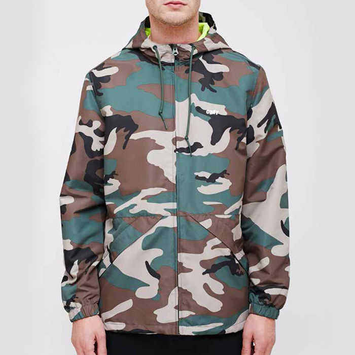 오베이 AMBUSH JACKET // FIELD CAMO