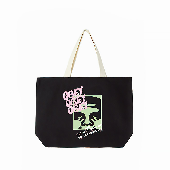 오베이 THE NEXT WAVE TOTE BAG // BLACK