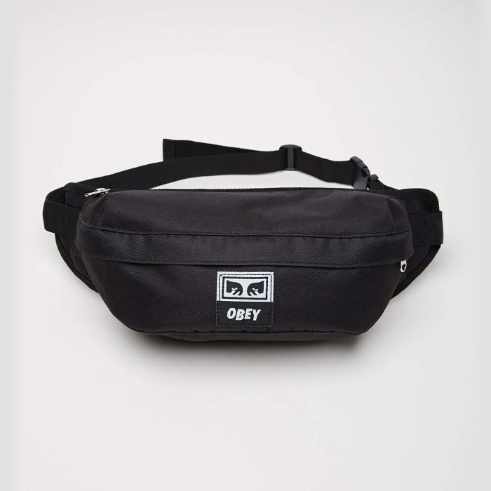 오베이 DROP OUT SLING PACK // BLACK