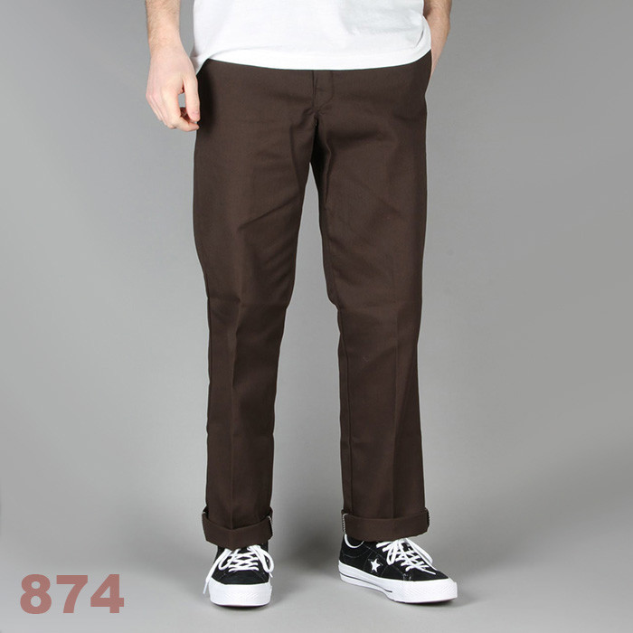 디키즈 Dickies Original 874® Work Pant / Dark Brown