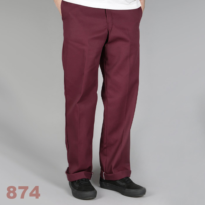 디키즈 Dickies Original 874® Work Pant / Maroon