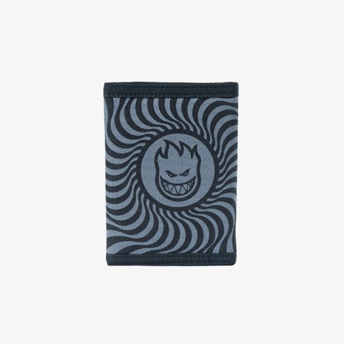 스핏파이어 BIGHEAD SWIRL Wallet // BLACK/GREY