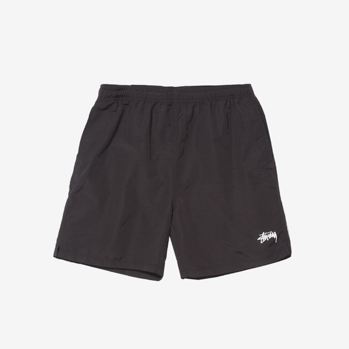 스투시 STOCK WATER SHORT / BLACK (재입고)