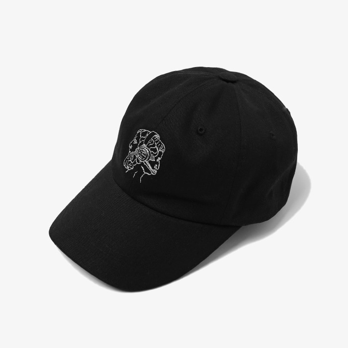 엘엠씨 LMC JANUS EMB 6 PANEL CAP // BLACK