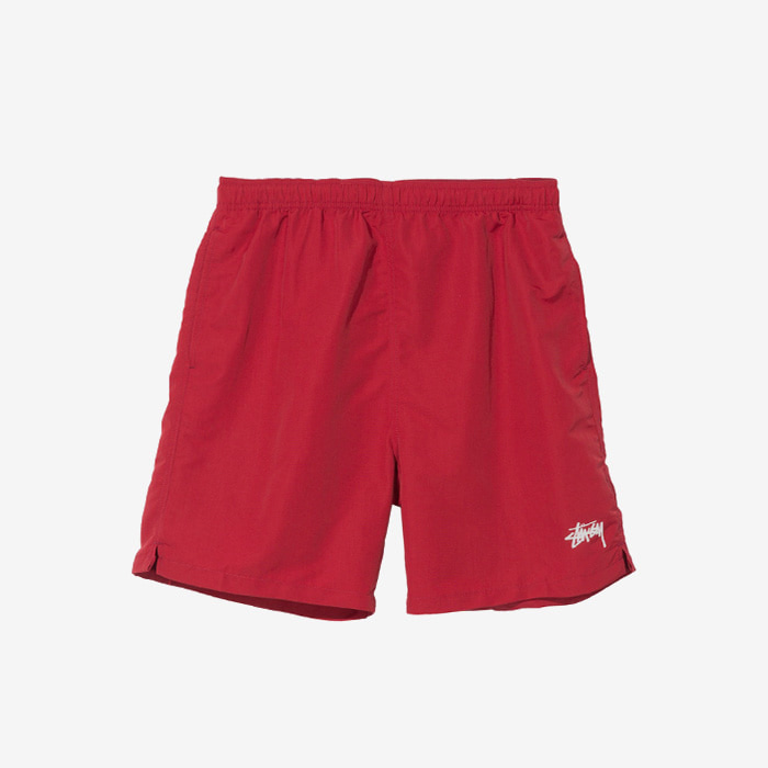 스투시 STOCK WATER SHORT / RED (재입고)
