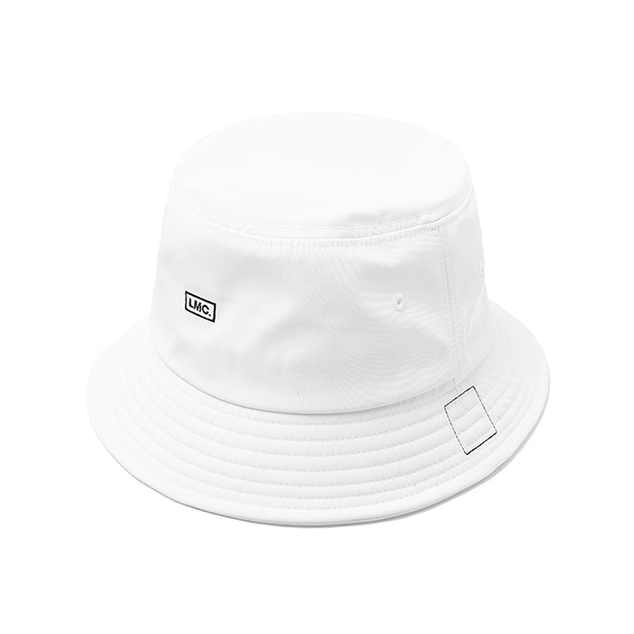 엘엠씨 LMC MICRO BOX LOGO BUCKET HAT / white