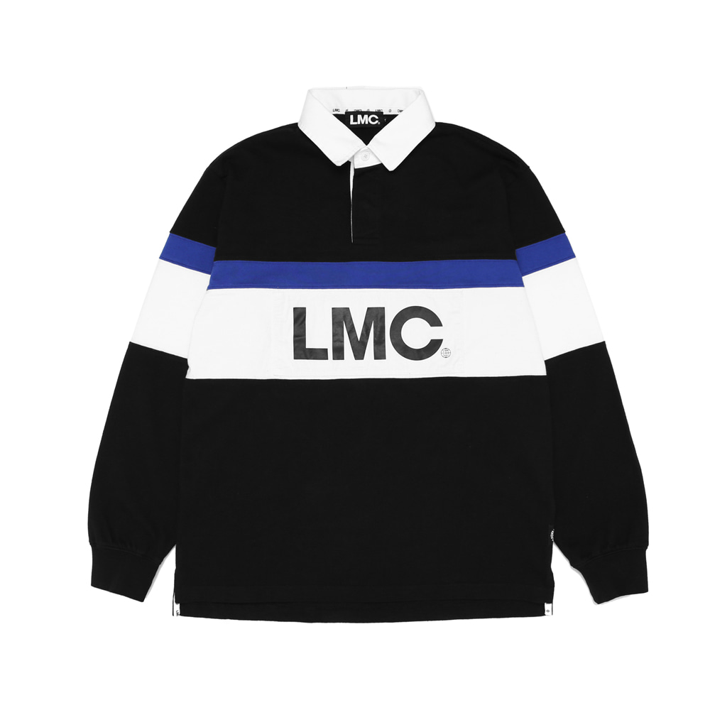 엘엠씨 RETRO RUGBY TEAM V LSV TEE / black (재입고)