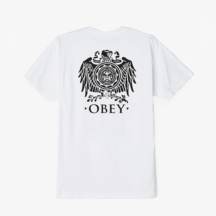 오베이 OBEY BROKEN EAGLE/WHITE