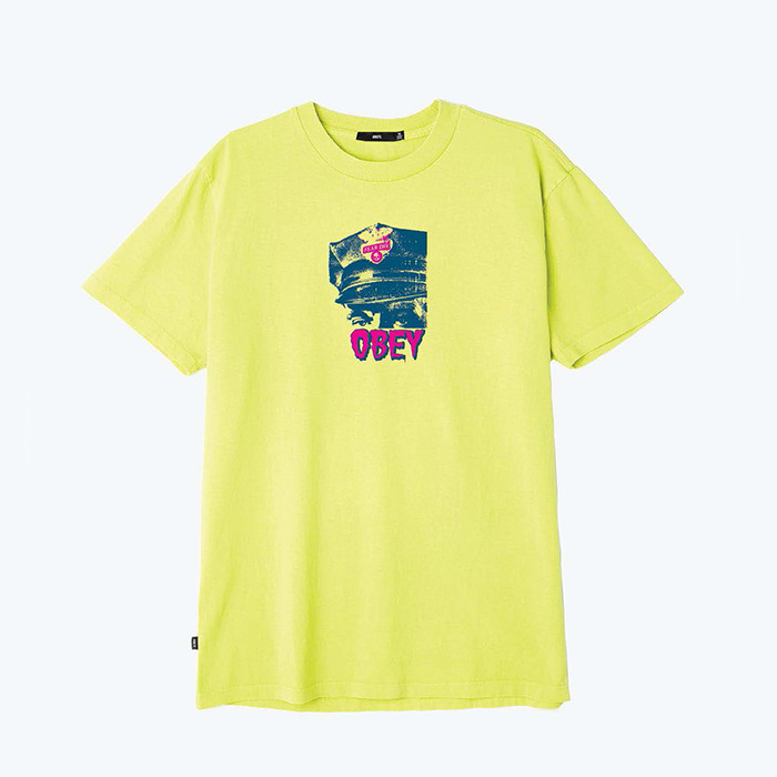 오베이 OBEY FEAR DIV. PIGMENT TEE/DUSTY MINT