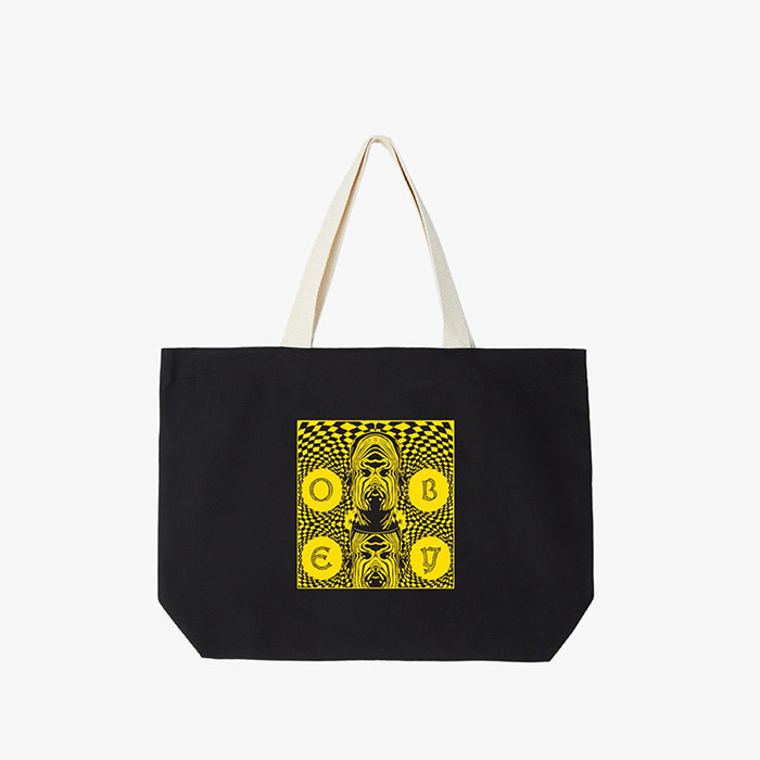 오베이 DREAMS TOTE BAGS/BLACK