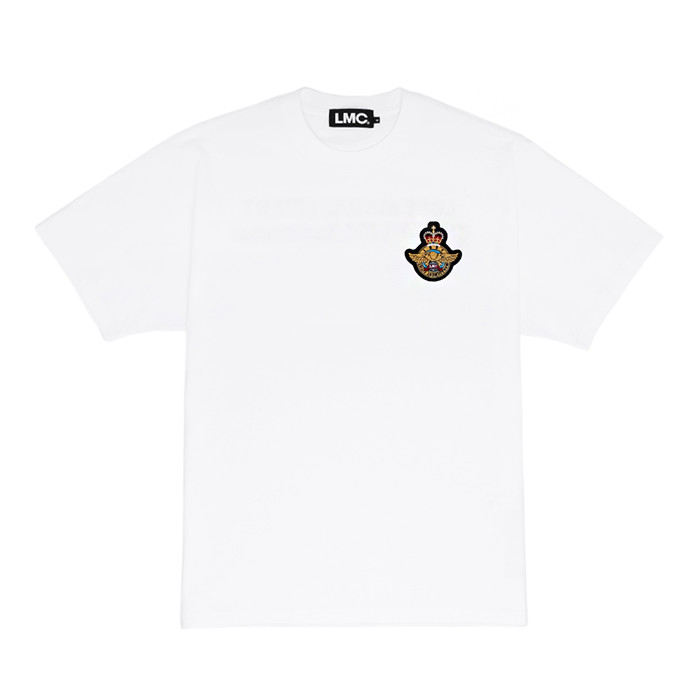 엘엠씨 LMC ROYAL EMB TEE/white