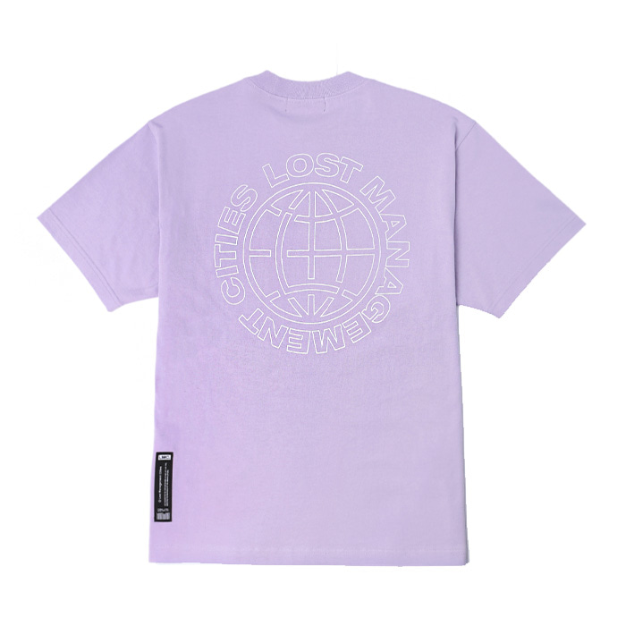 엘엠씨 LMC MICRO BOX LOGO TEE/powder purple