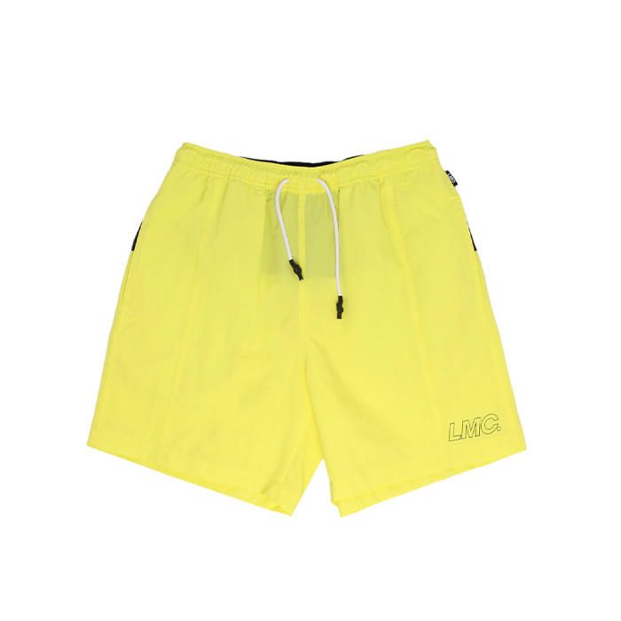 엘엠씨 LMC FN BLOCK TEAM SHORTS/lemon yellow