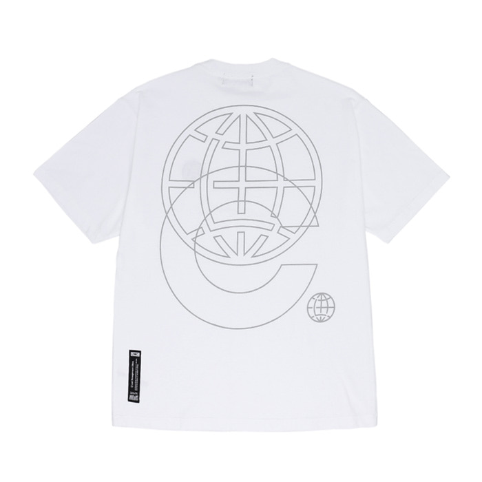 엘엠씨 LMC RFLCTV WL PATCH TEE/white
