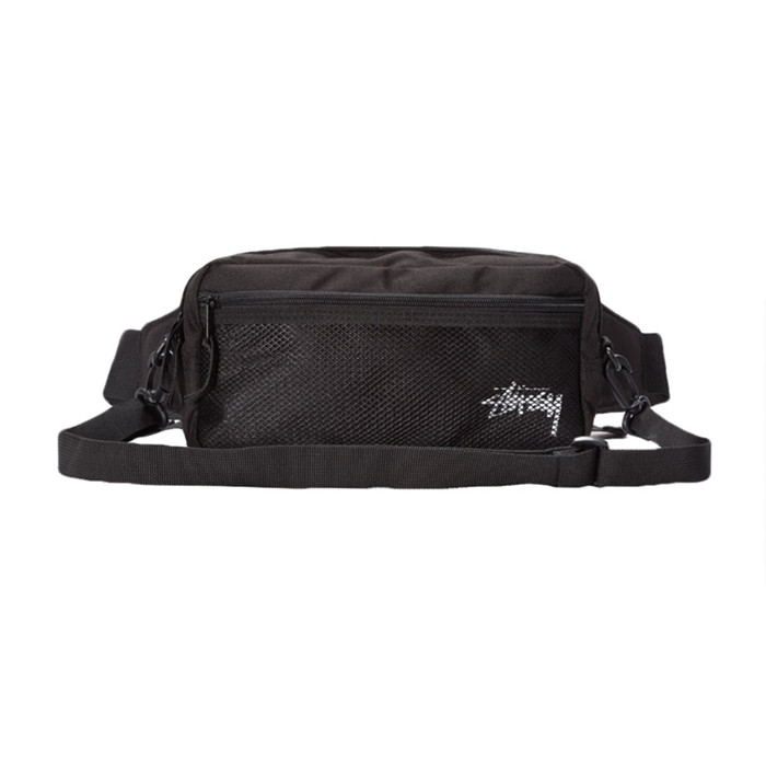 스투시 STOCK SIDE BAG/BLACK
