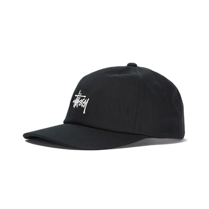 스투시 STOCK LOW PRO CAP/BLACK_131835
