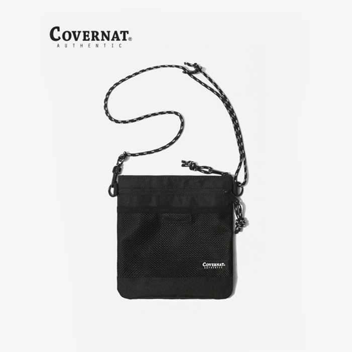 커버낫 CORDURA SACOCHE BAG BLACK