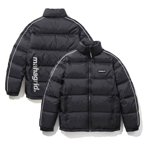 마하그리드 REFLECTIVE PUFFY DOWN JACKET/BLACK