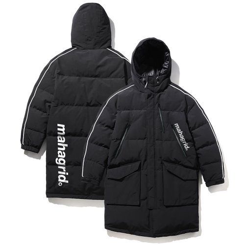마하그리드 ARCTIC OVERSIZED DOWN PARKA/BLACK
