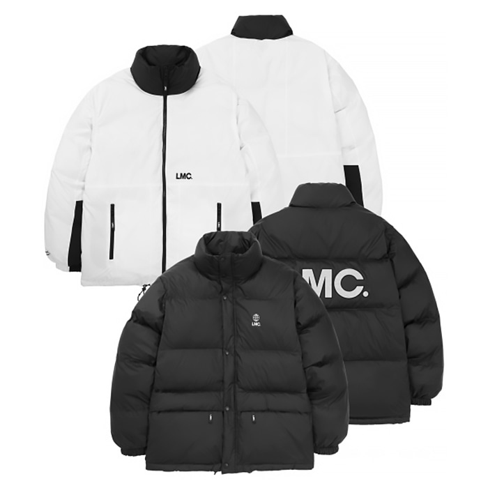 엘엠씨 LMC REVERSIBLE DOWN PARKA/black