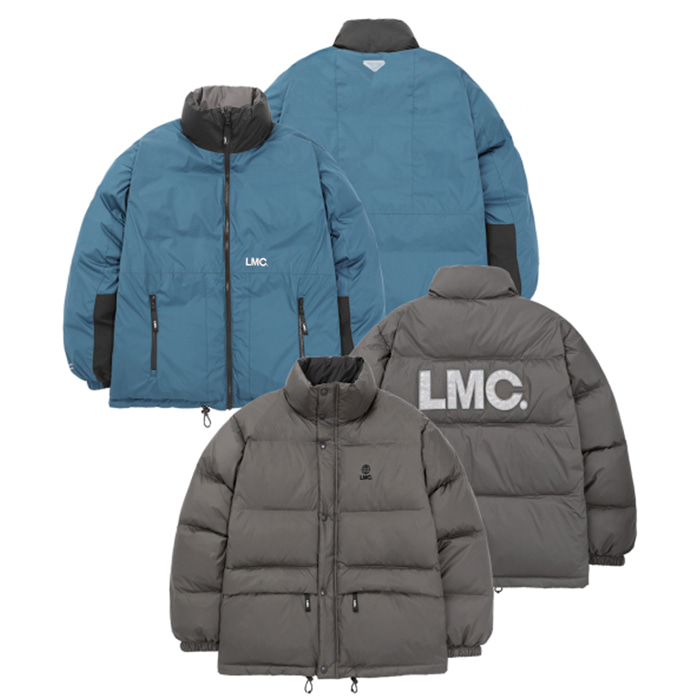 엘엠씨 LMC REVERSIBLE DOWN PARKA/gray