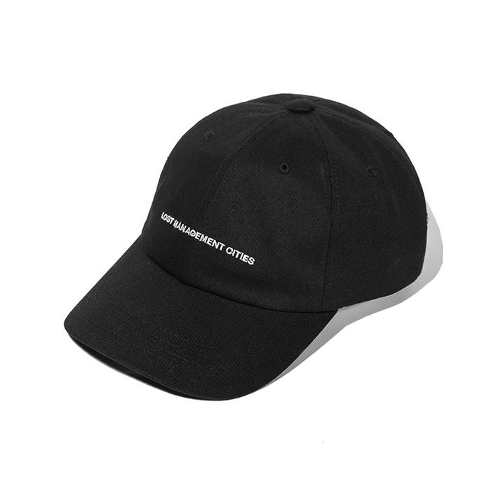 엘엠씨 모자 LMC CAPITAL LOGO 6 PANEL CAP black
