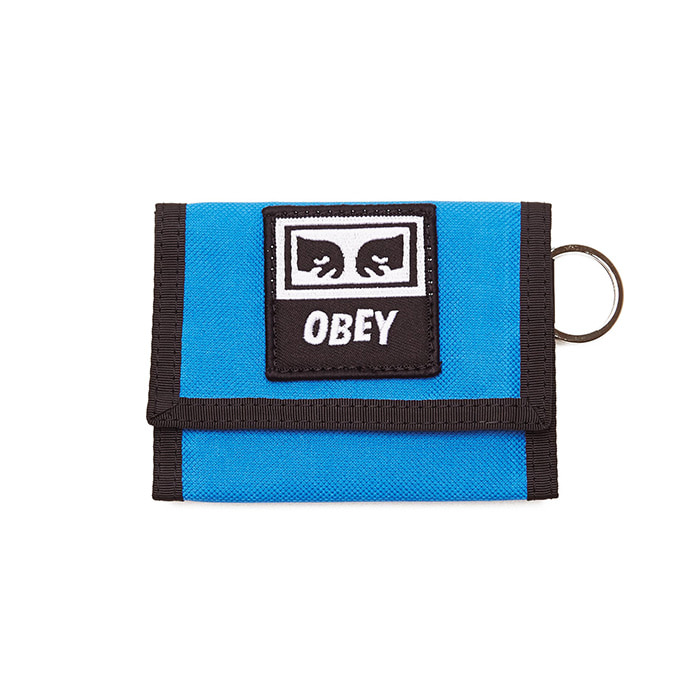 오베이 지갑 DROP OUT TRI FOLD WALLET/SKY BLUE
