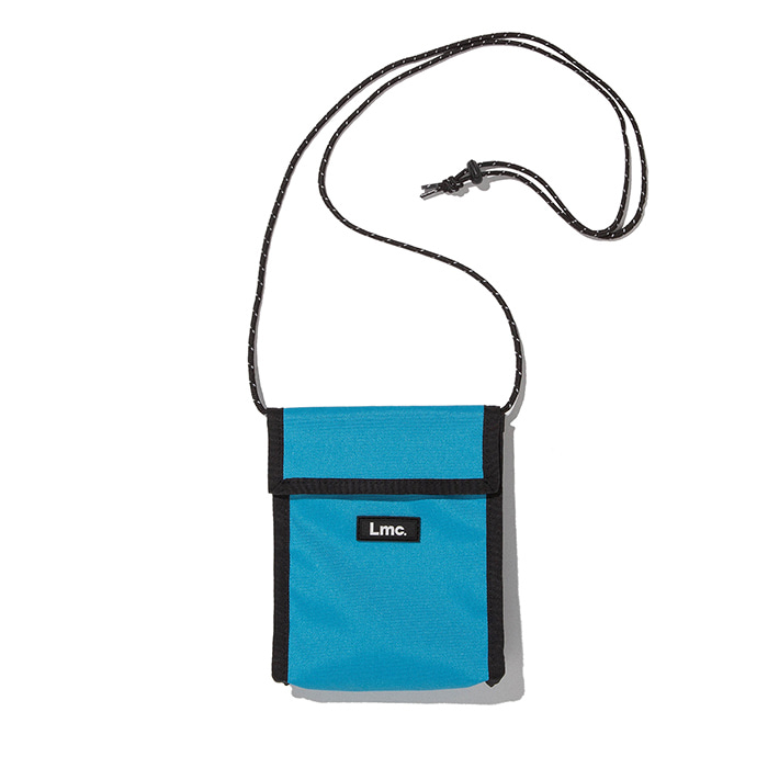 엘엠씨 파우치 LMC NECK POUCH BAG sky blue