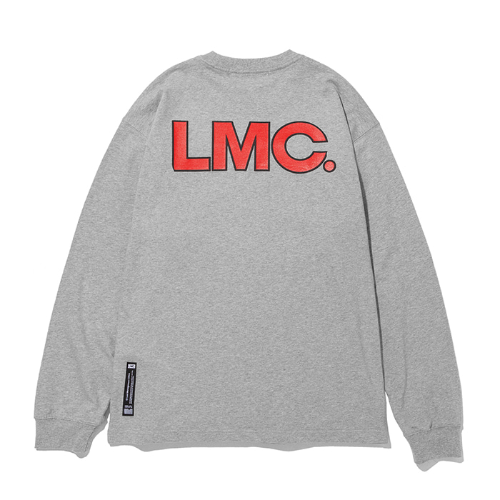 엘엠씨 롱슬리브 LMC EDGE LONG SLV TEE heather gray