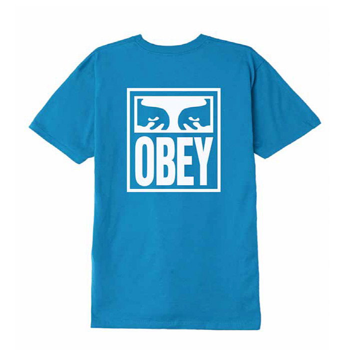 오베이 티셔츠 OBEY EYES ICON/SKY AZURE