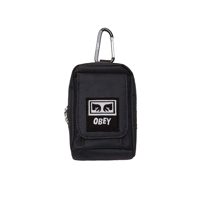 오베이 스몰백 DROP OUT UTILITY BAG/BLACK