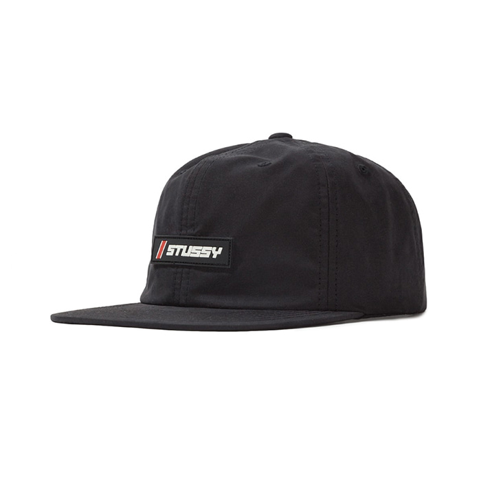 스투시 ALPINE PEACH STRAPBACK CAP_Black