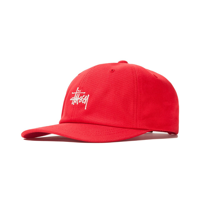 스투시 볼캡 SU19 STOCK LOW PRO CAP/Red