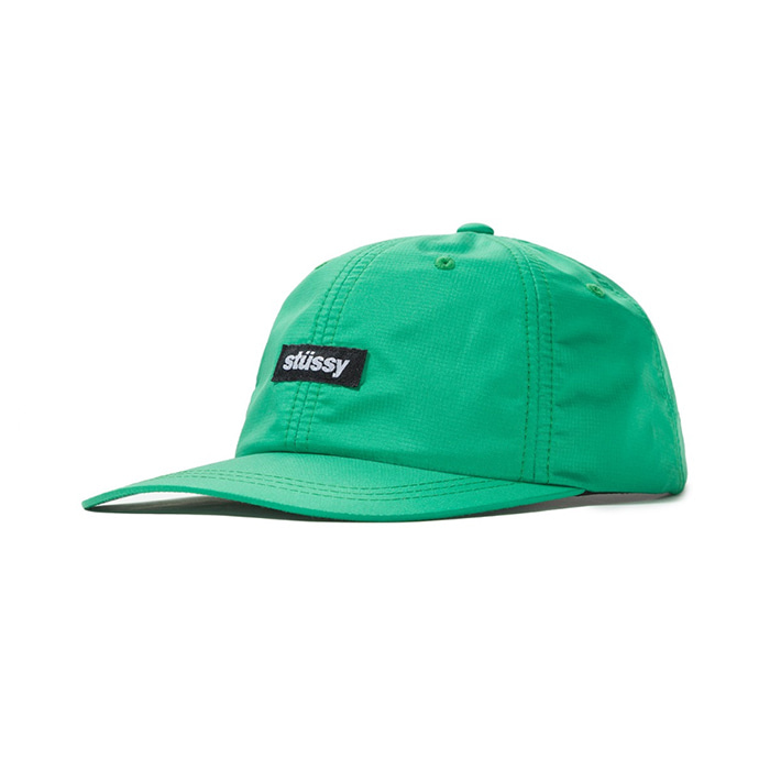 스투시 볼캡 POLY RIPSTOP LOW PRO CAP_Green